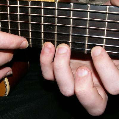 Gitarrentechnik Two-Hand-Tapping